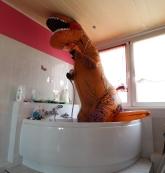 Plitscheplatsch - Dino nass