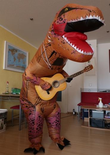 Ein echter Rock-Dino!