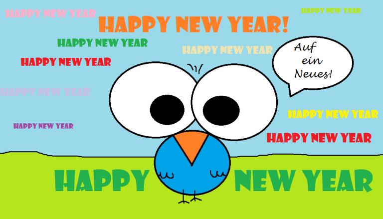 018 Viel Glück im neuen Jahr
